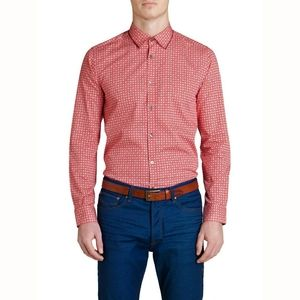 Ted Baker London Long Sleeve Button Down